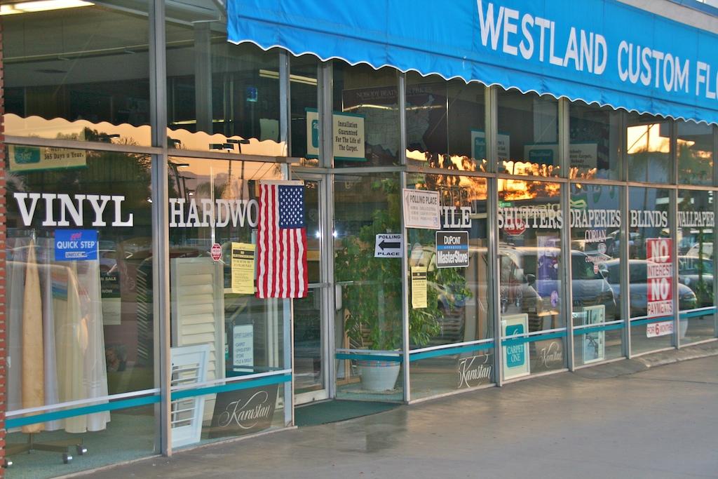 Westland Carpet Polling Place